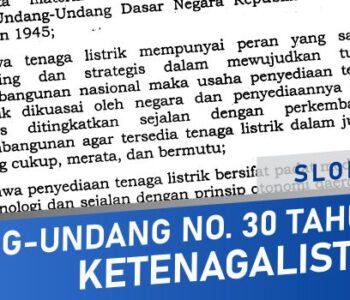 UU no 30 Tahun 2009